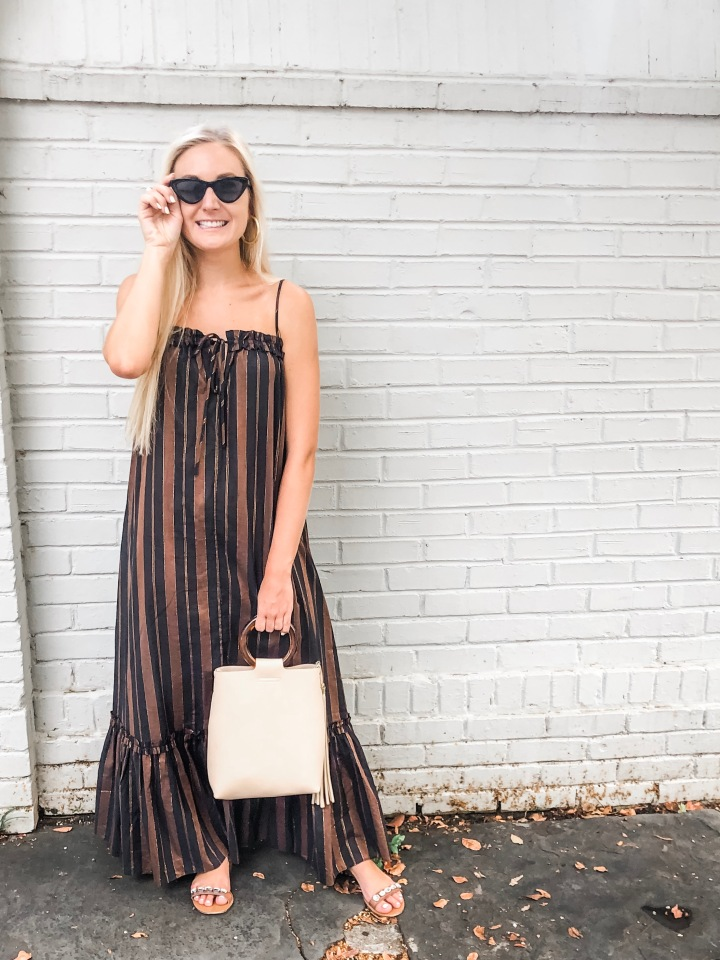 The Maxi Dress I'm Transitioning from Summer to Fall